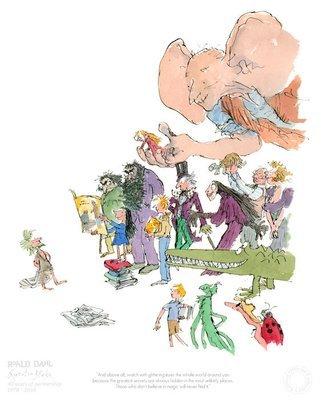 40th Anniversary Edition - Roald Dahl & Quentin Blake