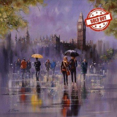Big Ben in the Rain