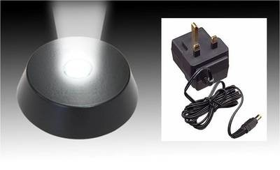 LED Light Base & Adaptor with free delivery if ordered with a Jellyfish