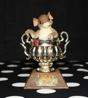 "Charming Tails Fitz & Floyd 2004 Signature Series ""You're A Real Winner"" w/ Box"