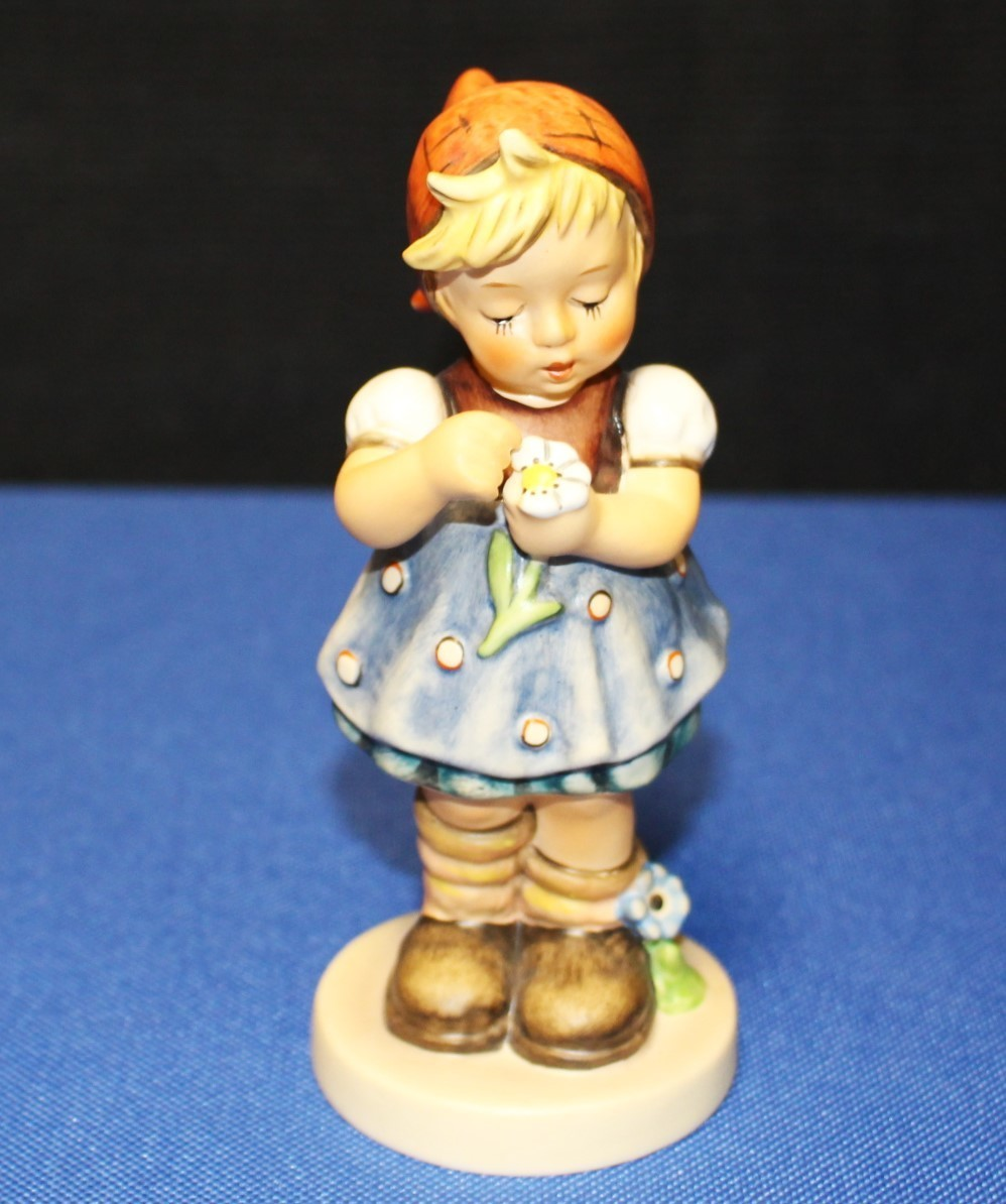 "Goebel Hummel Daisies Don't Tell 5"" Figurine #380 TMK-6 1972 Special Ed. No. 5"