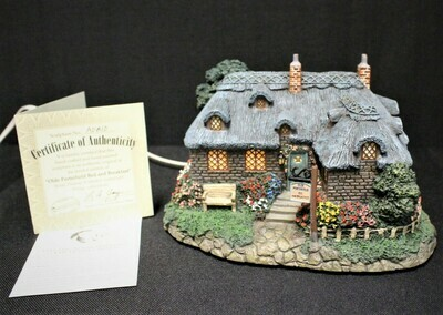 "Thomas Kinkade 2002 ""Olde Porterfield Bed & Breakfast"" Hawthorne Village #A0810"