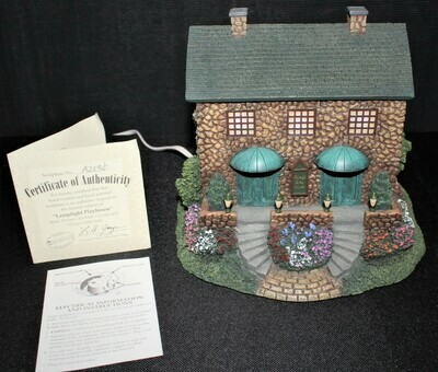 "Thomas Kinkade 2002 ""Lamplight Playhouse"" Hawthorne Village #A2056"