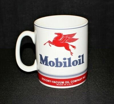 Vintage MobilOil Pegasus Large 1-Quart Socony-Vacuum Ceramic Coffee Mug