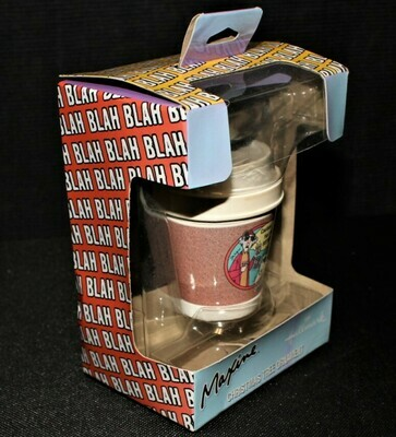 "Hallmark Maxine & Floyd ""Caution: Hot & Bothered"" Coffee Cup Ornament in Box"