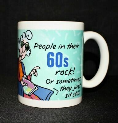 Maxine People In Their 60s Rock Hallmark Birthday Mug Dishwasher Microwave Safe