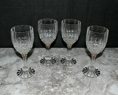Set of 4 Cristal D'Arques Bretagne