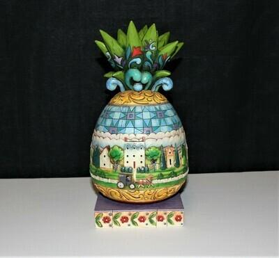Jim Shore 2006 Large Pineapple