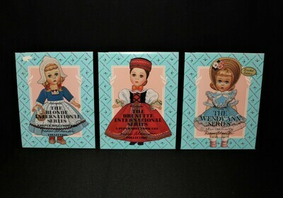Set of 3 Madame Alexander 1993 Limited Edition Paper Doll Collection, Sealed
