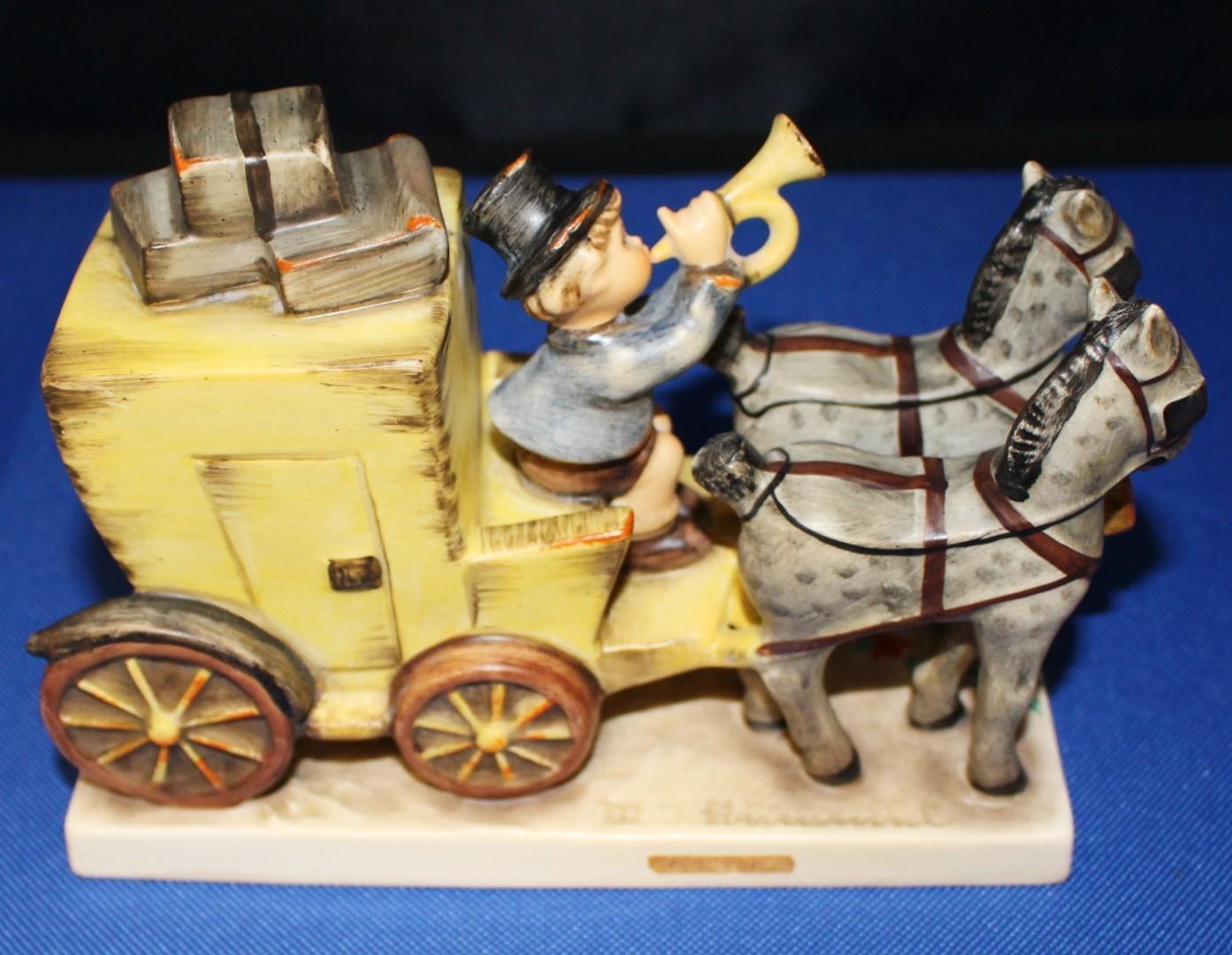 "1952 Goebel Hummel ""The Mail is Here"" Porcelain Figurine #226"