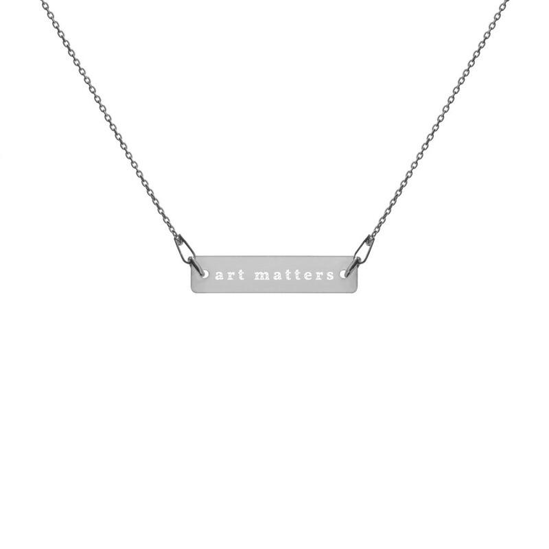 Art Matters | Bar Necklace