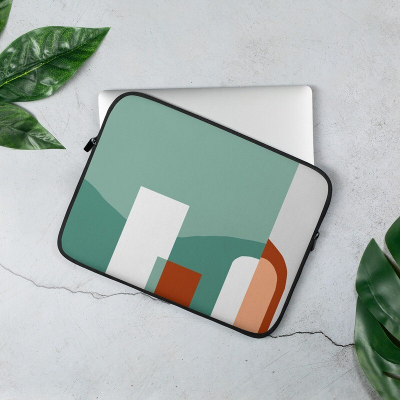 Art We There Yet Mural | Laptop Sleeve