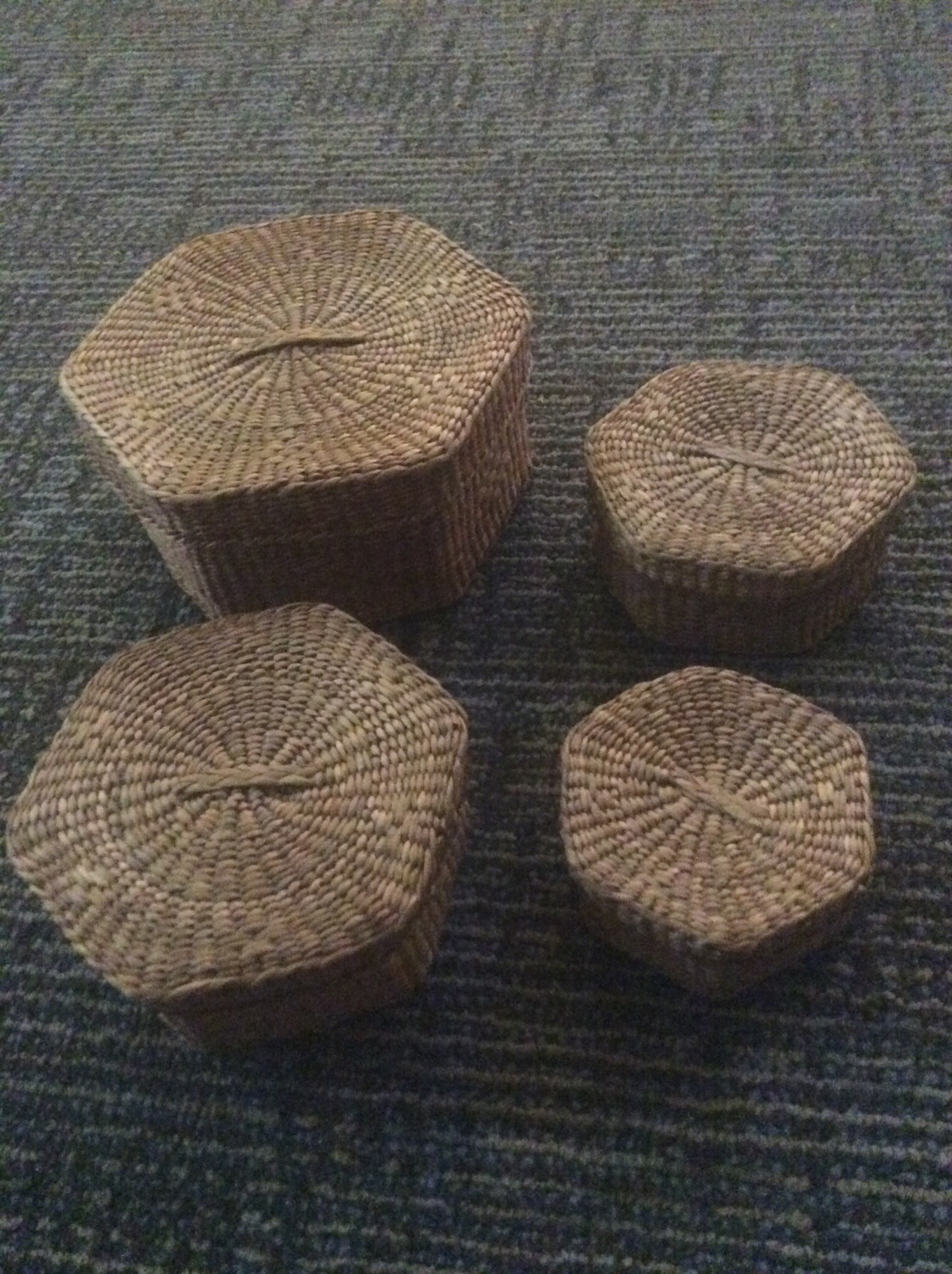 Set of 4 baskets charging vessels energize empower spirit tabernacles and enchanted Talismans