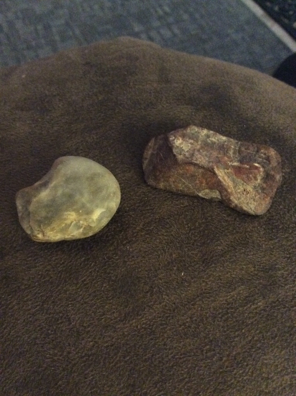 Two stones essences of water and fire powerful energy sources