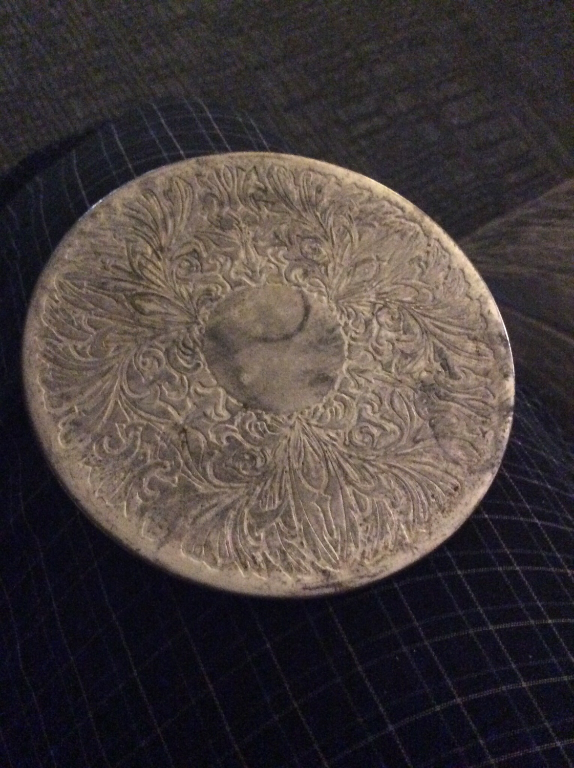 Trivet coaster charging vessel empower energize a spirit full lunar cycle