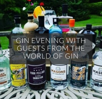 Gin Evening with Guests from the World of Gin