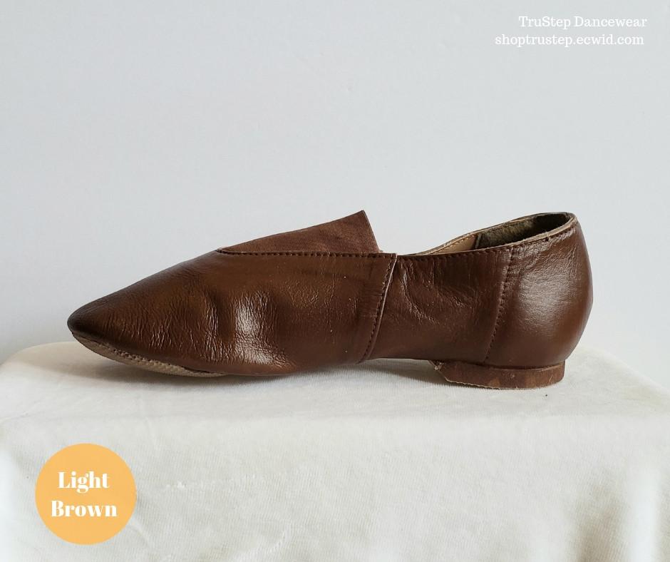 Light Brown Jazz Boot