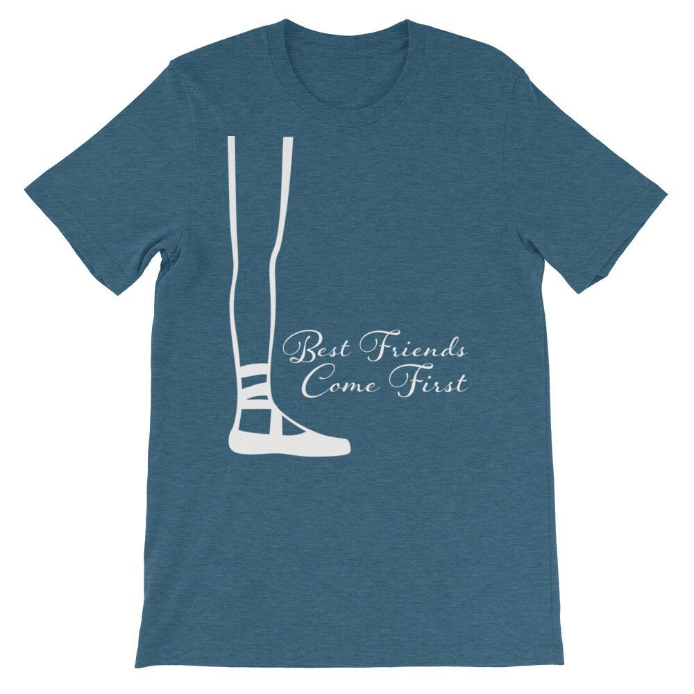 "Best Friends Short-Sleeve Unisex T-Shirt - ""Right Side"""
