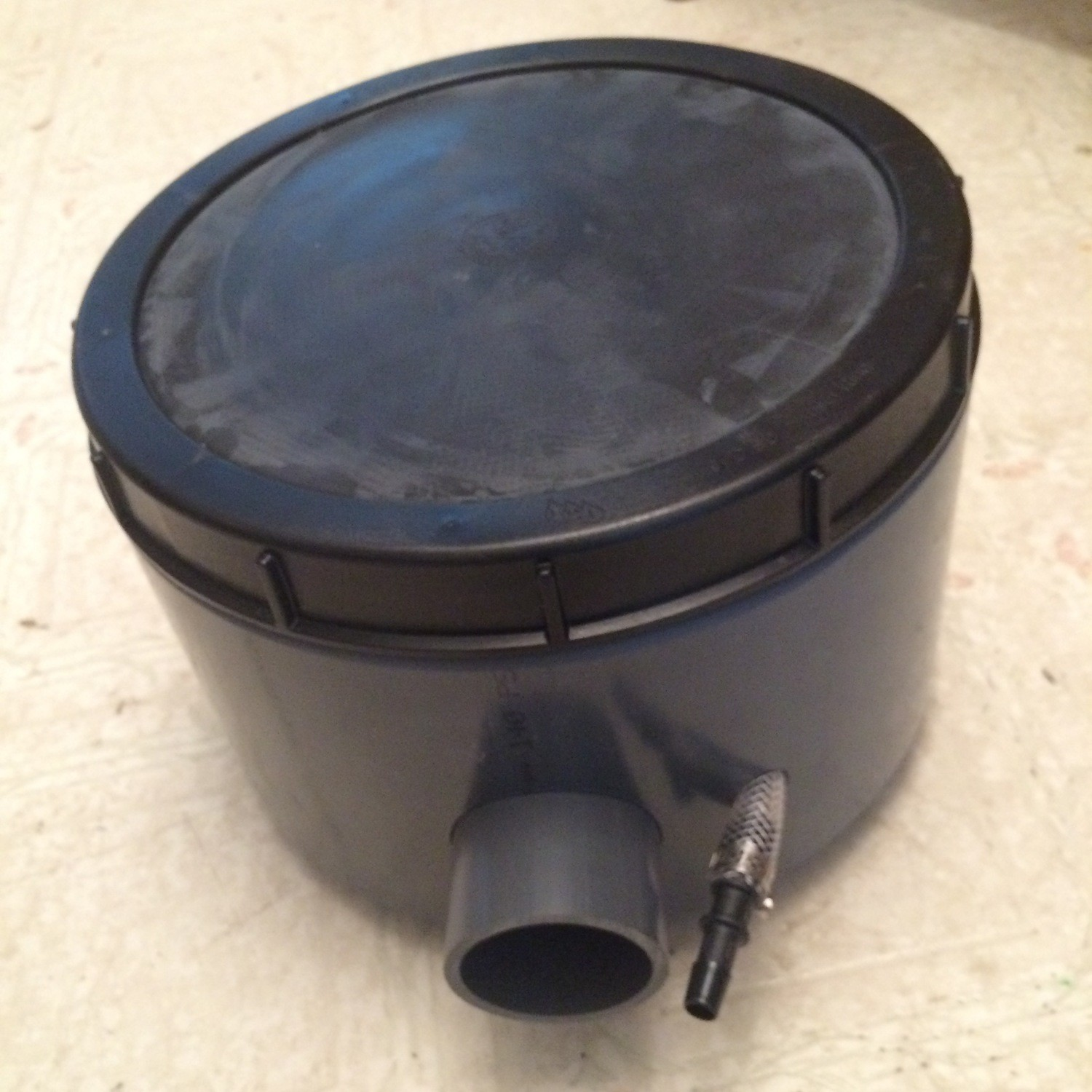 "Rhino WEIGHTED AIR DIFFUSER 9""  WITH BASE Sits on Top of Liner"