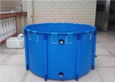 Foldable Round Koi Show Tank,[1,868 gal. ] 118
