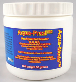 Prazi By Aqua Meds 25g Treats 2,500 Gallons