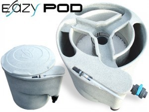 EAZY POD  Mechanical and biological filter system Koi ponds up to 5,333 US GALLONS