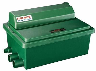 Fish Mate Compact 8 W UV+Bo Pond Gravity Filter Ponds up to 500 Gallons