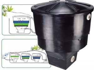 KOICLEAR 105, Complete Filter w/3 Matala  FlowRrate thru any Vortex 3500 GPH