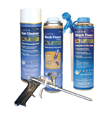 Savio Black Foam Gun Applicator