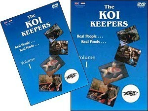 THE KOI KEEPERS VOLUME 1 DVD