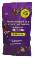 "TOMiGAi Tategoi 8 lb.""Medium-Large"" Pellet Only. One size fits all koi."