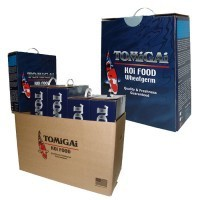 TOMiGAi - WHEAT GERM -6 lb.[Sinking Food]  Pellet Size: