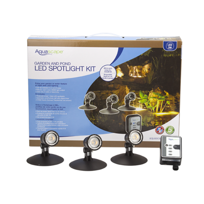 AQUASCAPES Garden and Pond LED Spotlight Kit