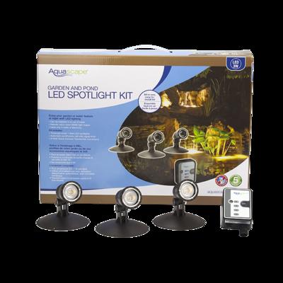 AQUASCAPES Garden and Pond LED Spotlight Kit