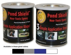 POND ARMOR  3 GALLON [BLACK]   FREE SHIPPING