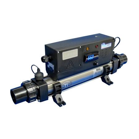 ELECRO TATANIUM IN LINE POND HEATER  4 KW-220 VOLT
