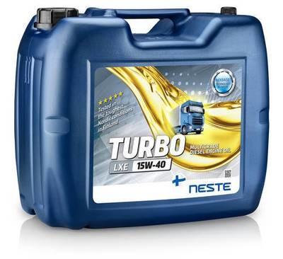 Neste Turbo LXE 15W-40 (20л)