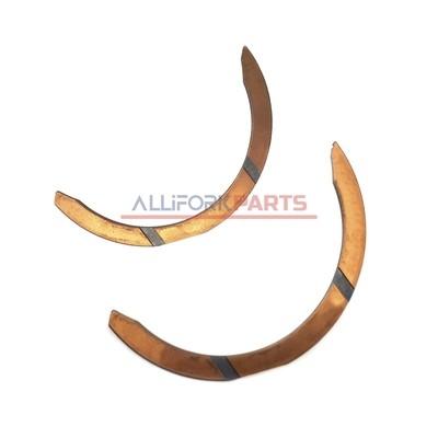 Полукольцо упорное коленчатого вала верхнее Caterpillar 3054, C4.4 (676873) CTP