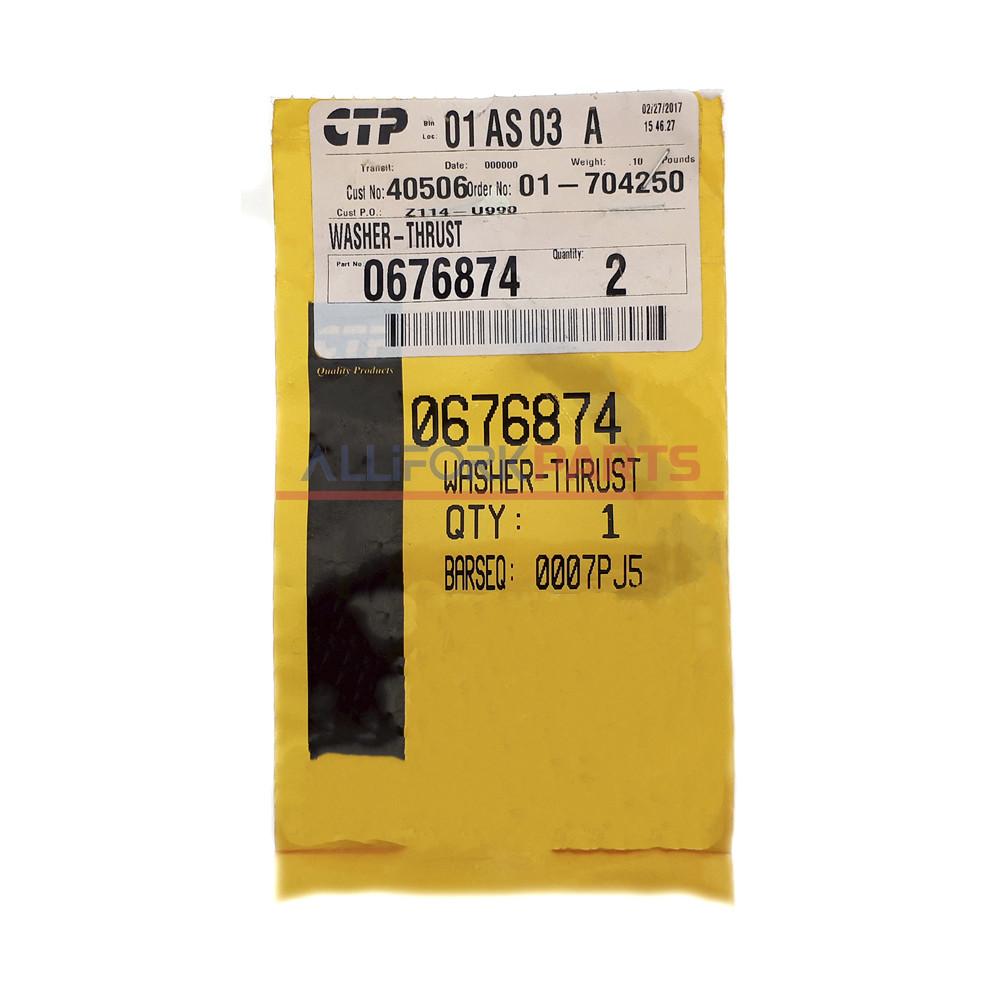 067-6874 / 0676874 Полукольцо упорное CAT 3054/C4.4