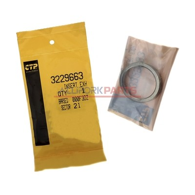 Седло выпускного клапана Caterpillar 3054C (3229663) CTP