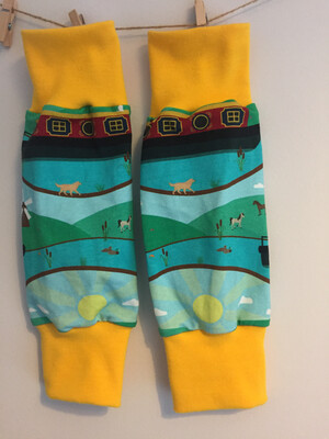 Narrowboat Leg Warmers - alternative cuffs available