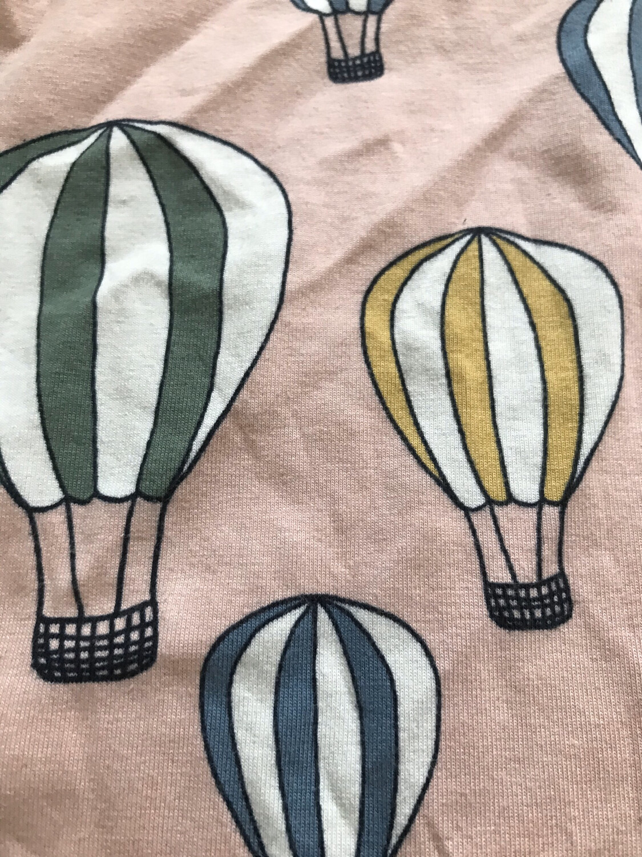 Pink hot air balloon Baby Leg Warmers - alternative cuffs available