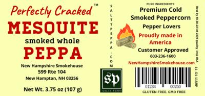 Mesquite Smoked Whole Peppa 6 oz kitchen size