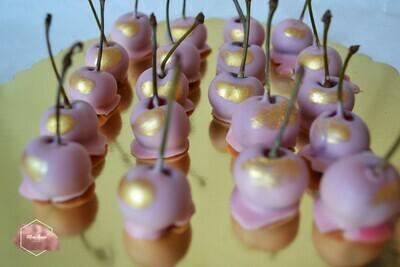 ალუბალი შოკოლადში 20 ცალი | Chocolate-dipped cherry 20 pcs