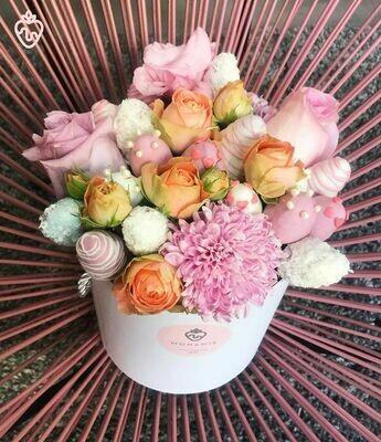 მარწყვი & ყვავილები | Strawberry & Flowers
