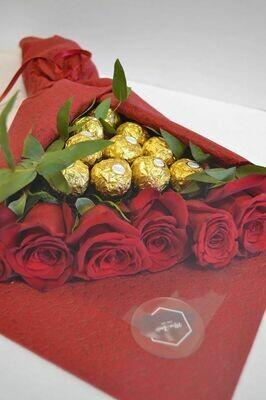 ვარდები & ფერერო | Roses & Ferrero Rocher