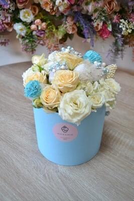 ცისფერი თაიგული პატარა | Blue Bouquet Small