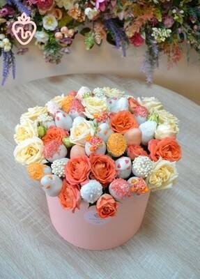 ატმისფერი თაიგული დიდი | Peach Bouquet Large