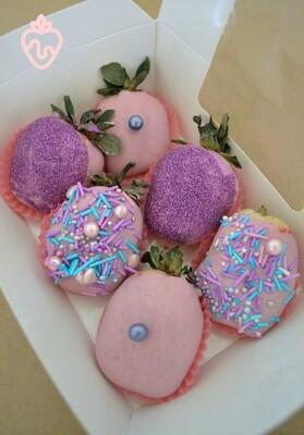 ვარდისფერი & იასამნისფერი (6ც) | Pink & Purple (6 pcs)