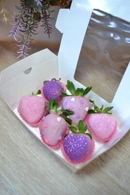 ვარდისფერი & იასამნისფერი (6ც) | Pink & Purple (6pcs)